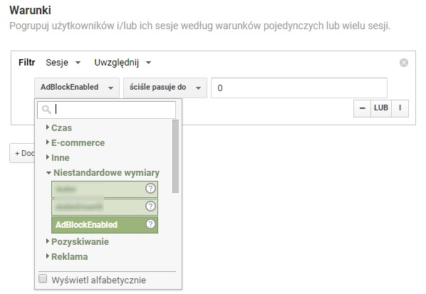 google analytics segemnty