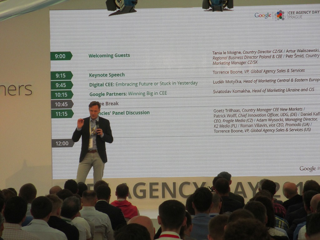 Google CEE Agency Day 2015