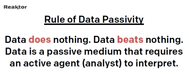 Rule of Data Passivity, Simo Ahava